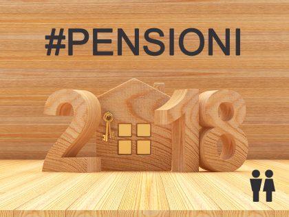 Tipologie di pensioni 2018